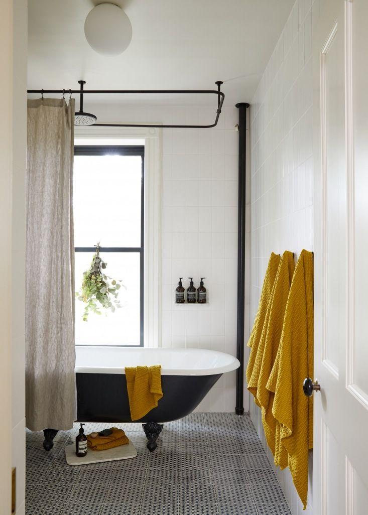 Clawfoot Tub Bathroom Designs Best Warm Minimalism In A Young Architect's Own Brooklyn Townhouse Inspiration