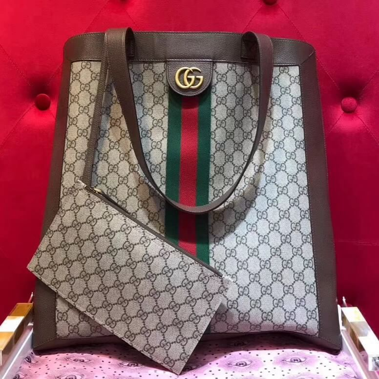 b998d729aab Gucci Ophidia soft GG Supreme large tote 519335 2018