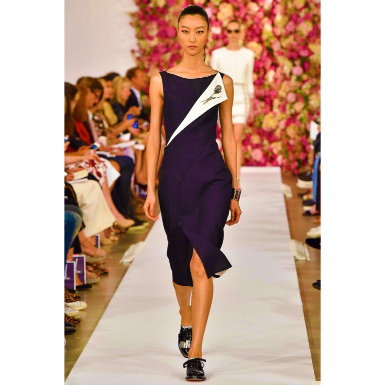 #oscardelarenta #Spring #2015 #fashion #style #design #designer #gorgeous #green #Fabulous #women