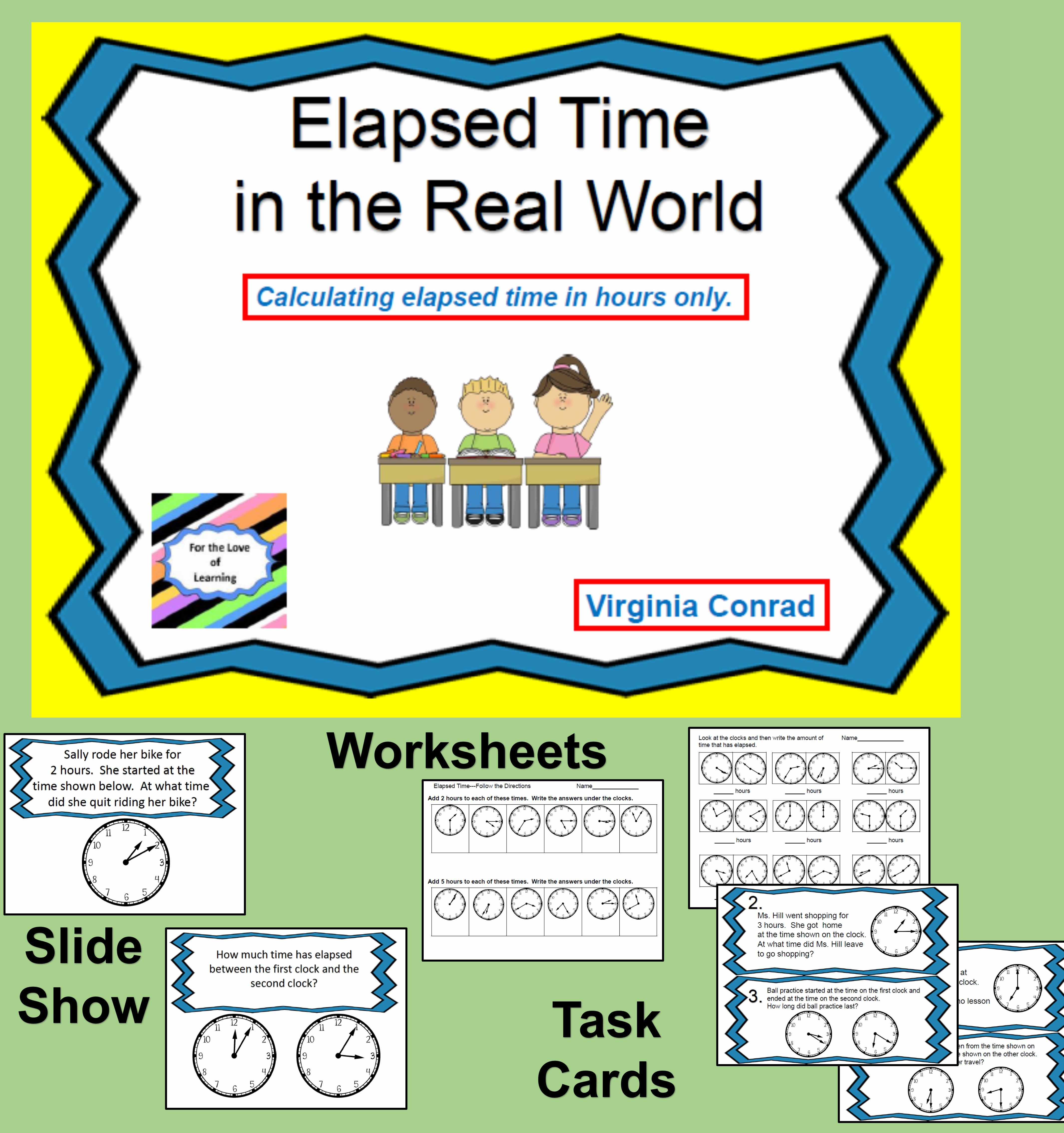 Get Started With Elapsed Time By The Hour With This Slide