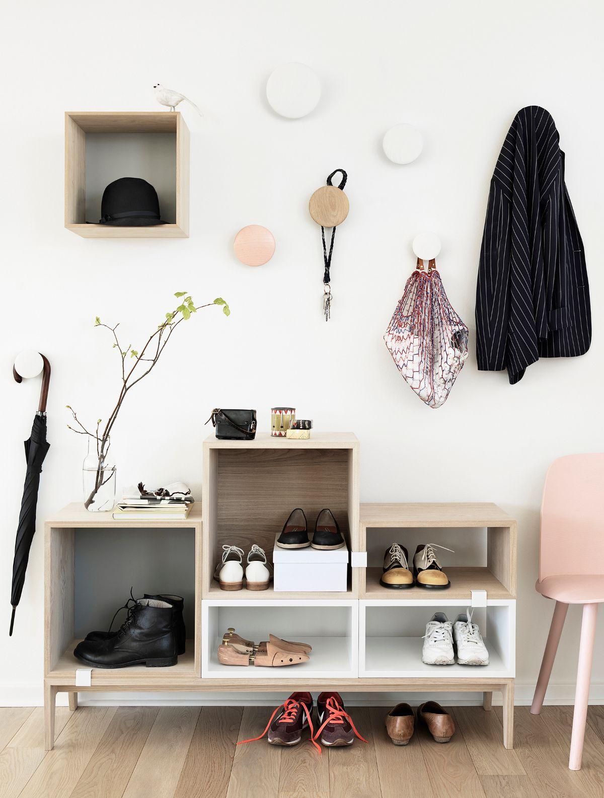 Muuto Mini Stacked Kast Medium Wic Hallway Inspiration