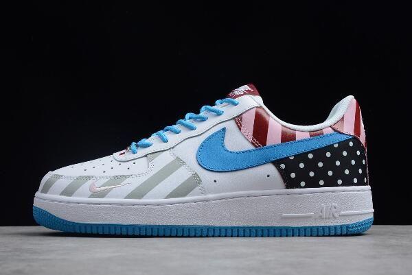 2018 Parra x Nike Air Force 1  07 White Multi-Color 315122-170 ... a88160de6