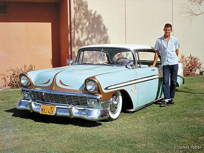 Jim Jackson S 1956 Chevrolet Renegades Long Beach Cool Old