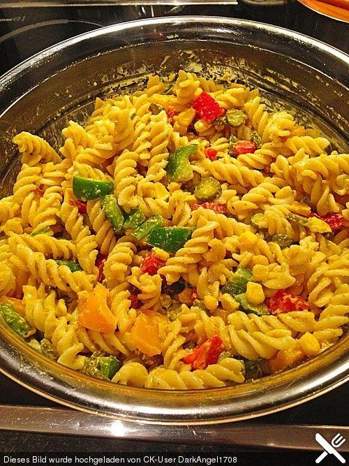 Photo of Curry pasta salad