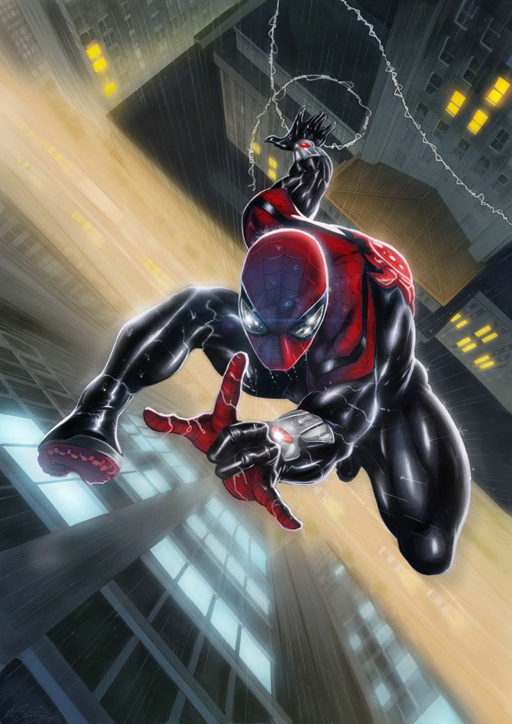 #Superior #Spiderman #Fan #Art. (Superior Spider-man) By: Marco Santucci & Cristian Sabarre. ÅWESOMENESS!!!™ ÅÅÅ+
