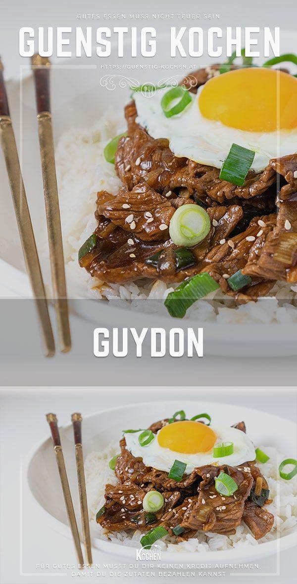Ein Gyūdon (Guydon) ist sehr beliebt in Japan - Hai, Toranaga-sama...!