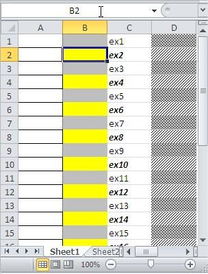 Excel Conditional Formatting Highlight every other row Microsoft