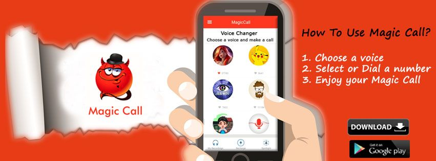 Magic Call The Ultimate Voice Changer App Change Voice