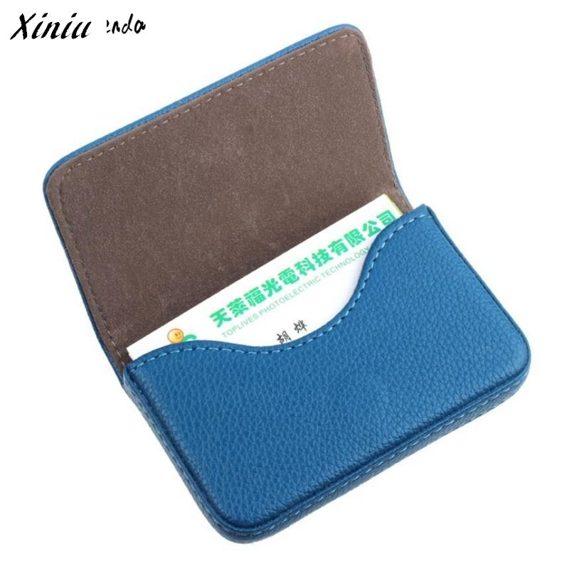 Xiniu pocket leather card case exquisite magnetic attractive name xiniu pocket leather card case exquisite magnetic attractive name card case business card box holder reheart Choice Image