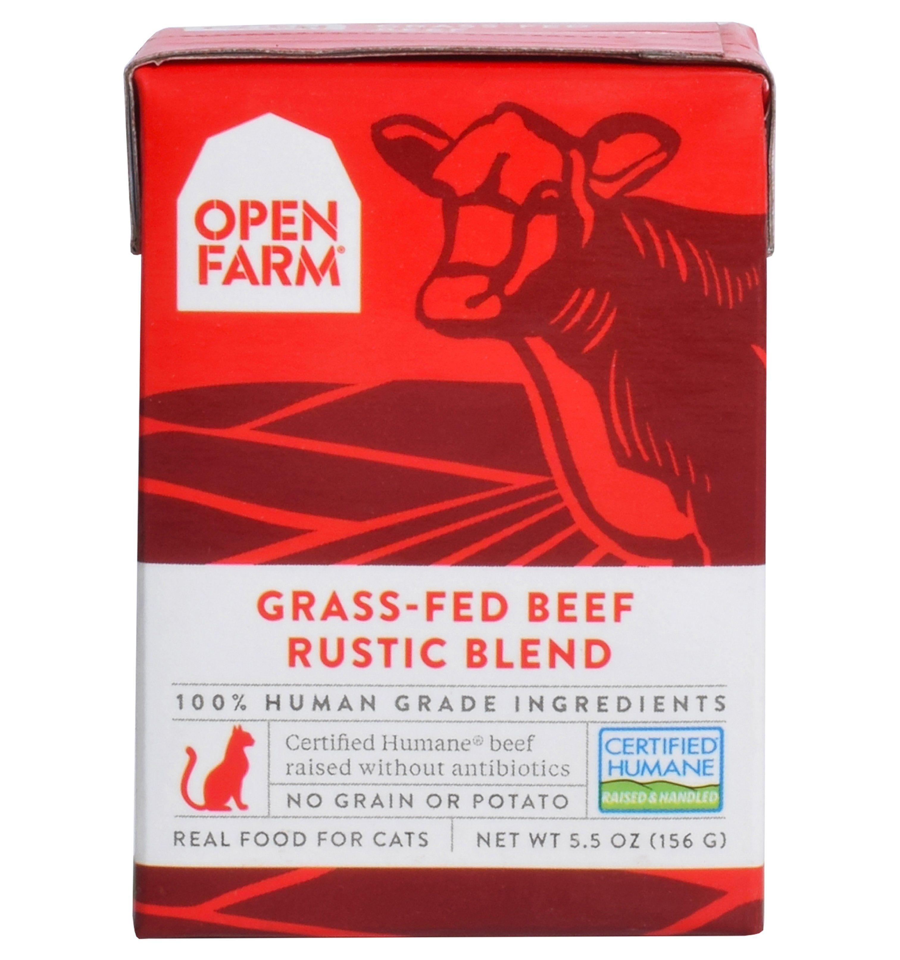 Open farm grassfed beef rustic blend grass fed beef beef
