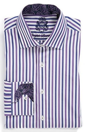 English Laundry Trim Fit Dress Shirt Con Imagenes Camisas