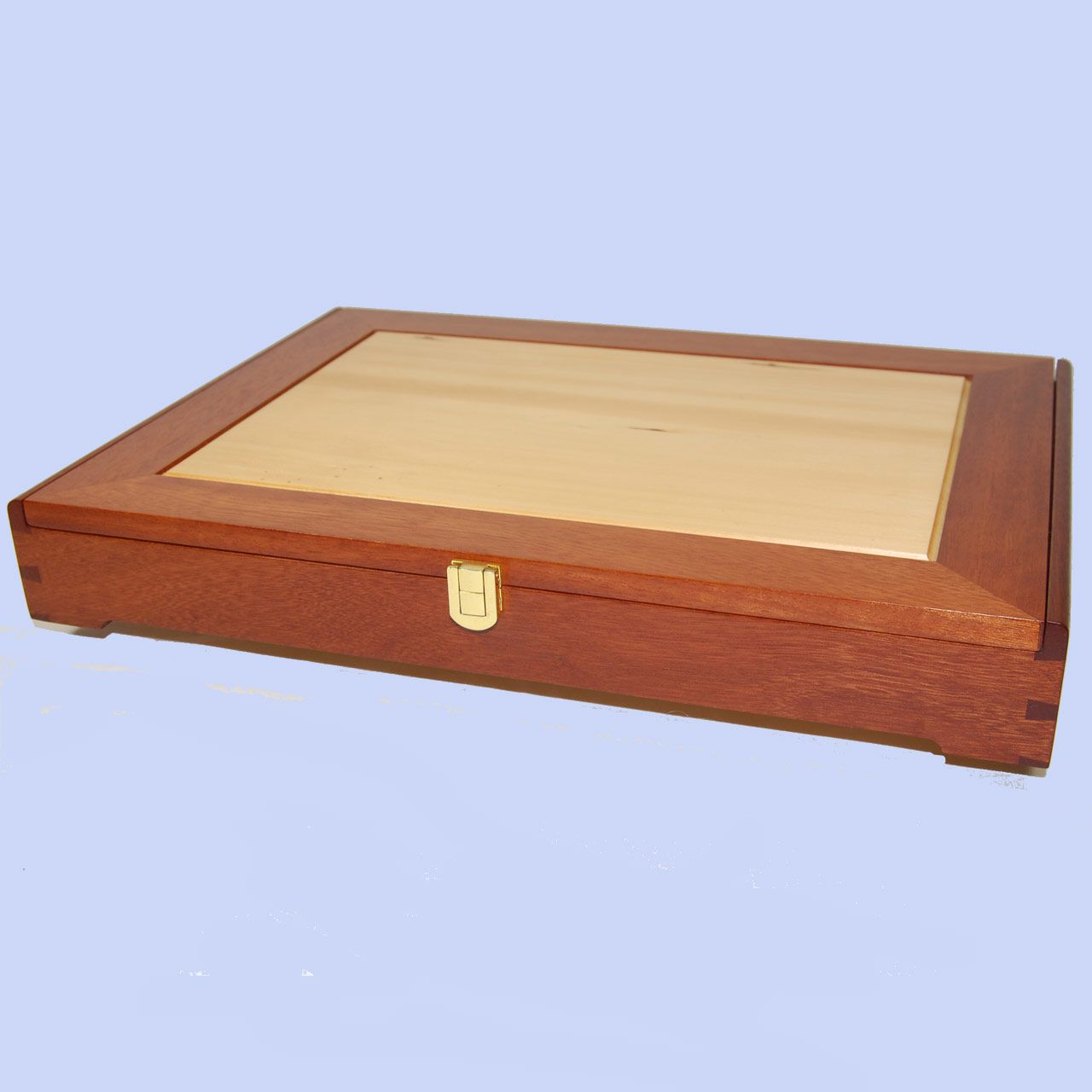 Huon Pine And Miva Mahogany Document Box Handmade In Australia  # Miva Diseno Muebles