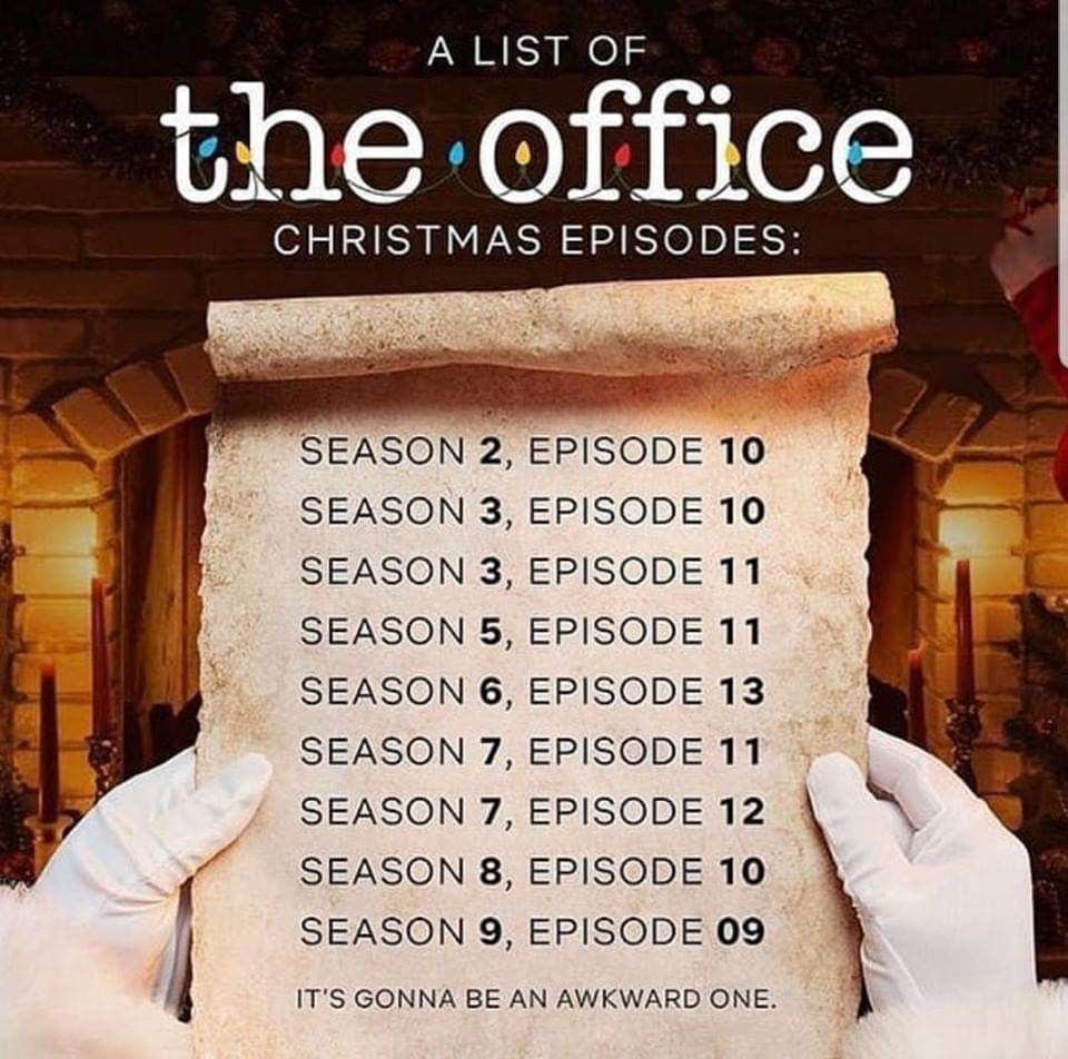 The Office Christmas Episodes Office Christmas Episodes