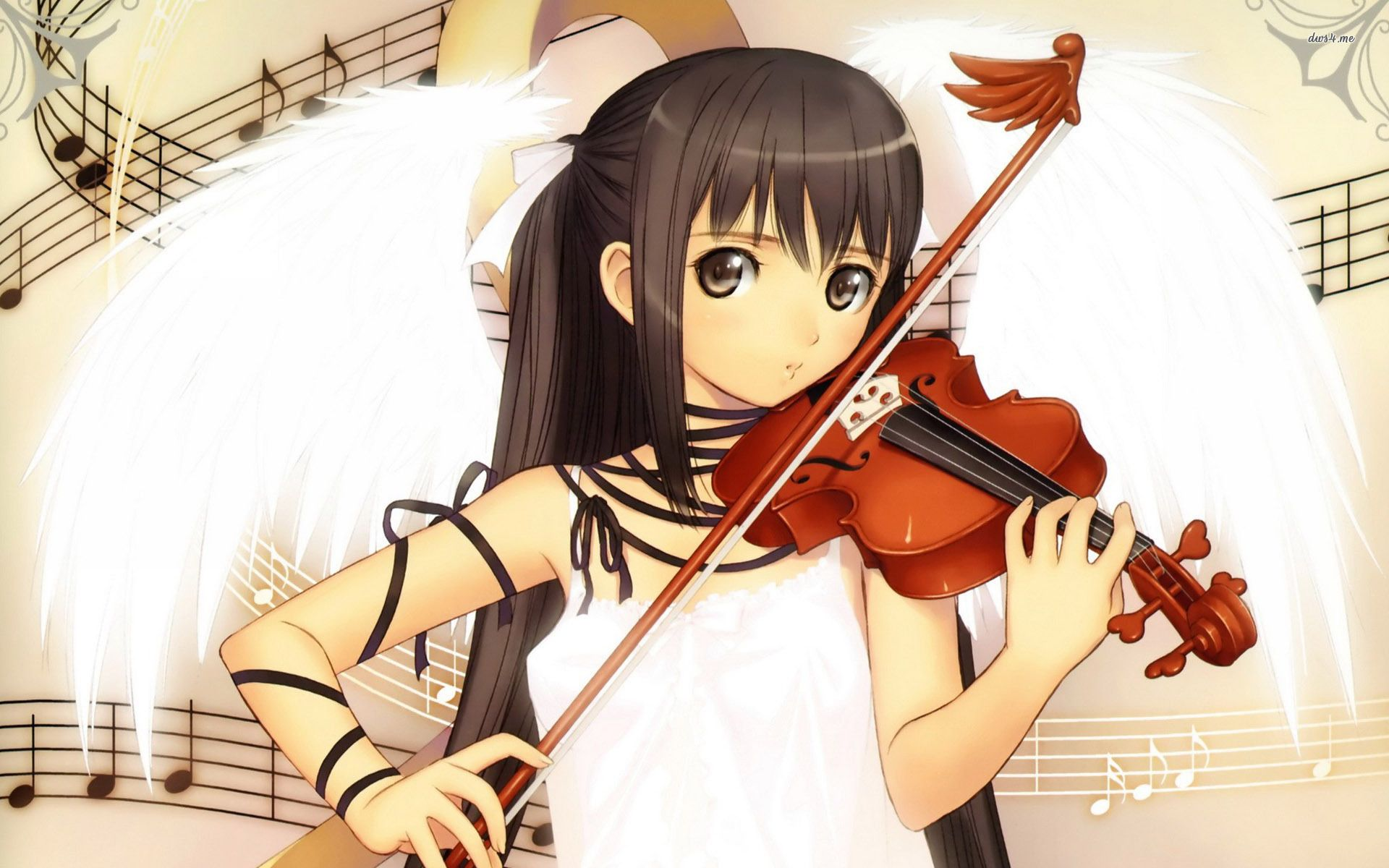 Art microphone headphones girl musical instruments wallpaper ...