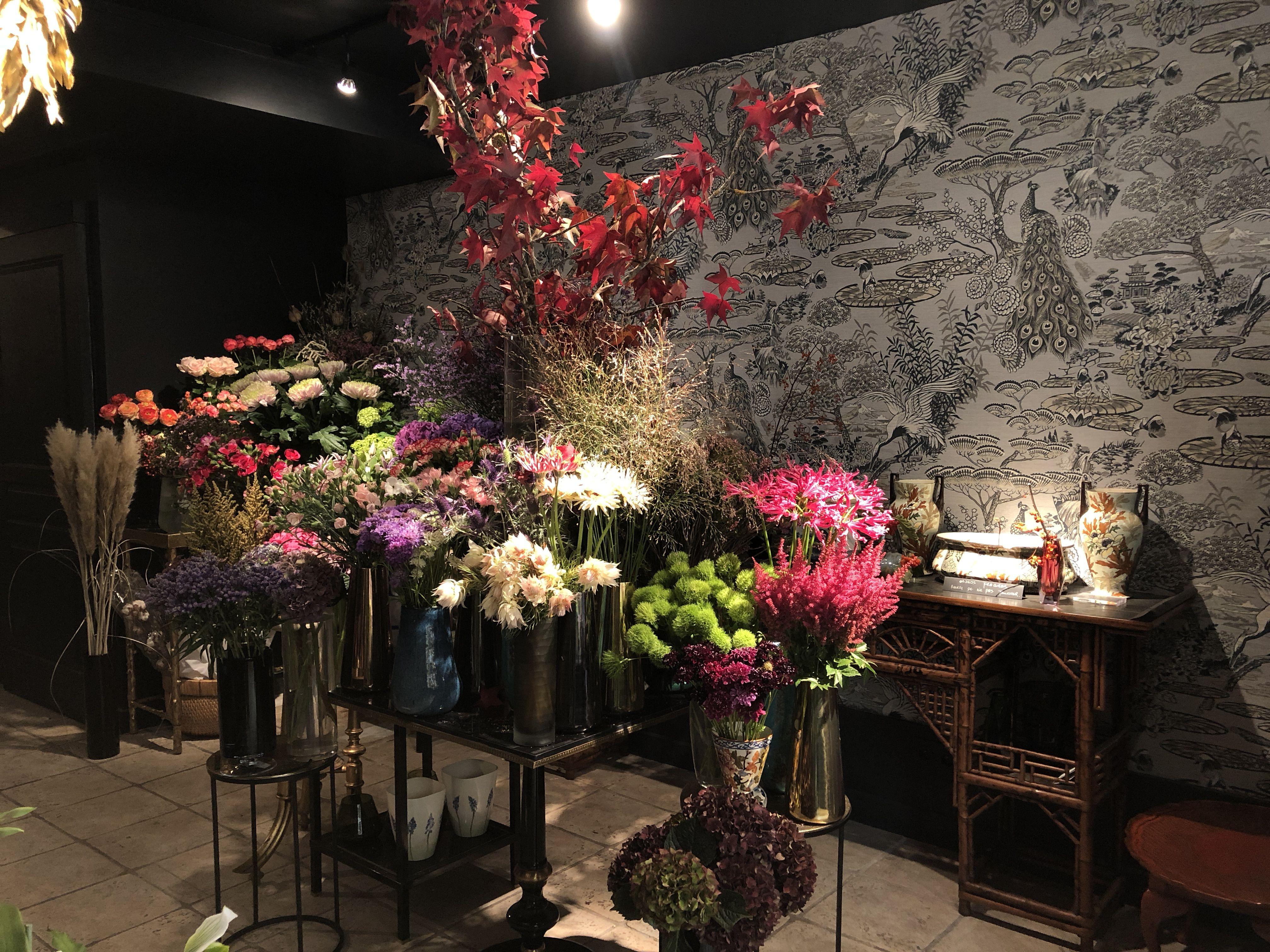Boya Paris Concept Store Flower Shop Fleuriste Chinoiserie Le