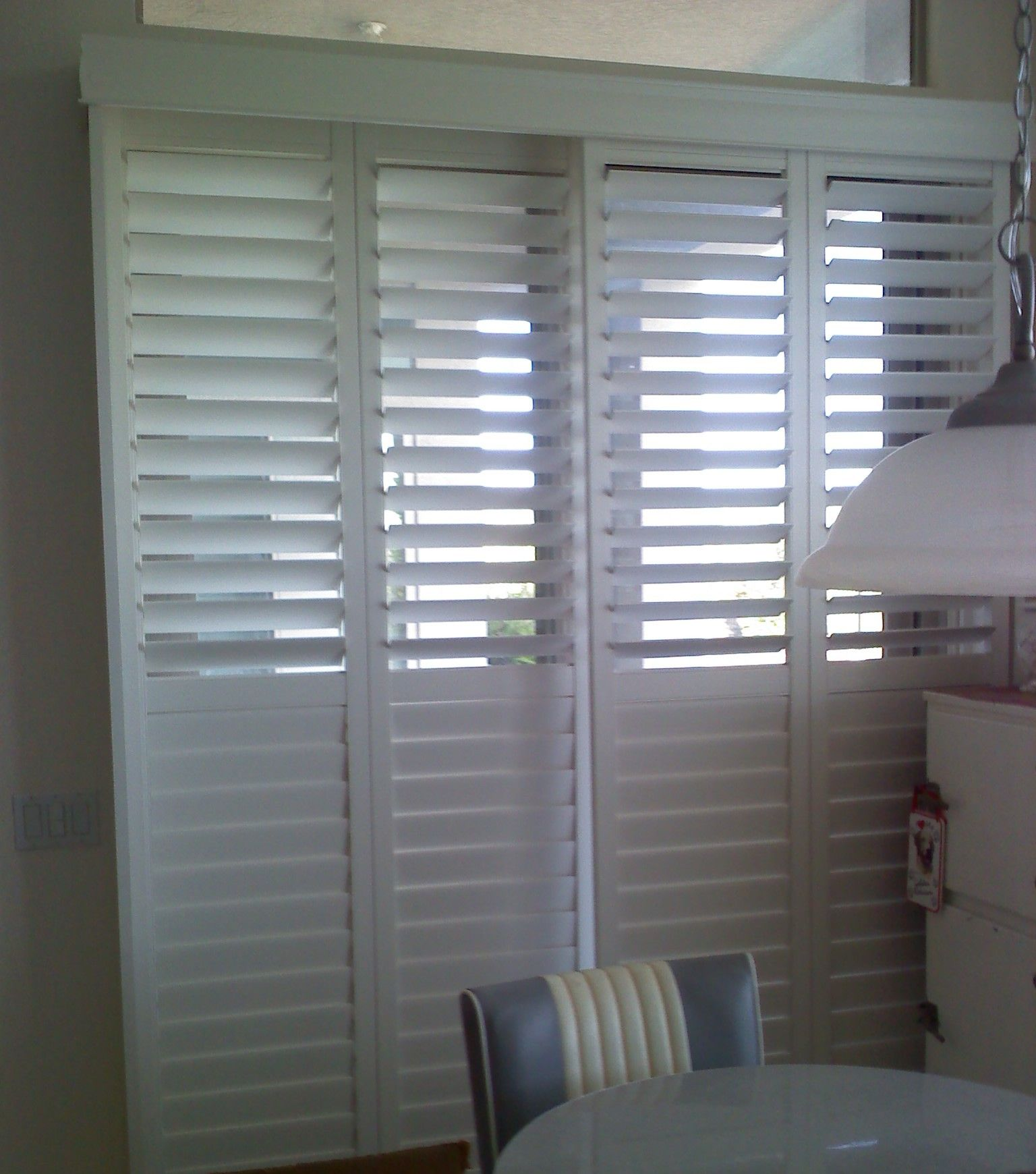 Marvelous Plantation Shutters For Sliding Patio Doors   The Huge Growth In Demand For  Folding Sliding Doors On The Past Two Or Three Y