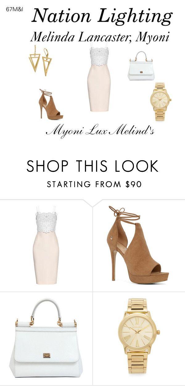 """MLM, Sexys Ladies"" by melinda-lancaster on Polyvore featuring moda, Antonio Berardi, ALDO, Dolce&Gabbana e Michael Kors"