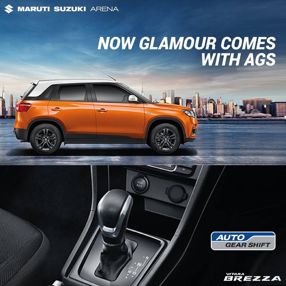 Experience The Glamour Of Ease With Marutisuzuki Vitarabrezza And Its Auto Gear Shift Technology Suzuki News Suzuki Commercial Vehicle