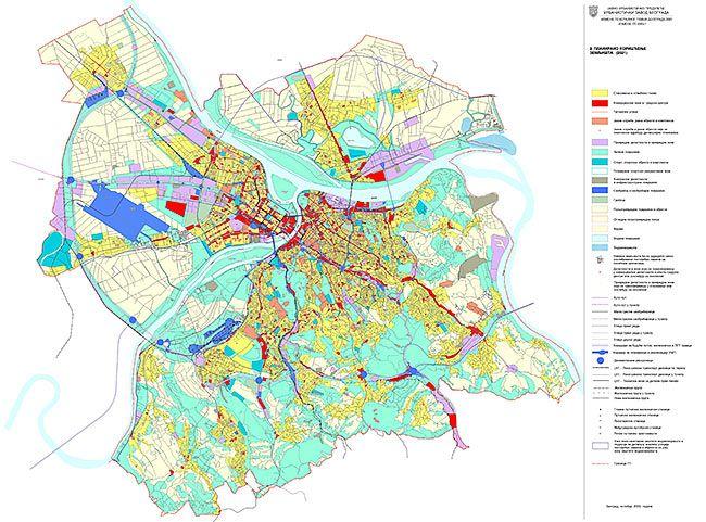 Generalni Plan Beograda 2021 How To Plan City Maps Diagram
