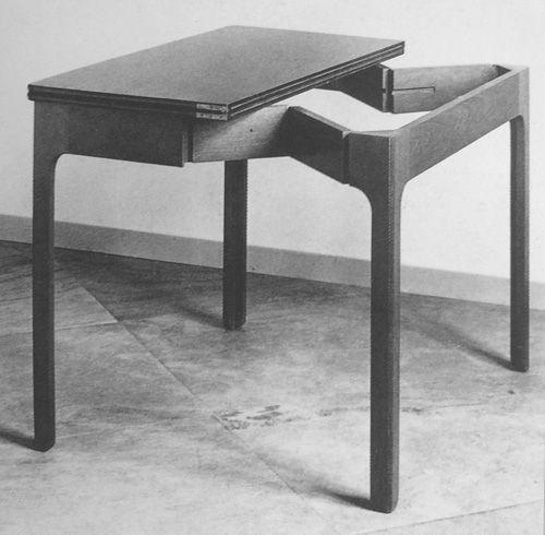 """mehtapty:  Kaare Klint """"Card Table"""", 1934 via"""