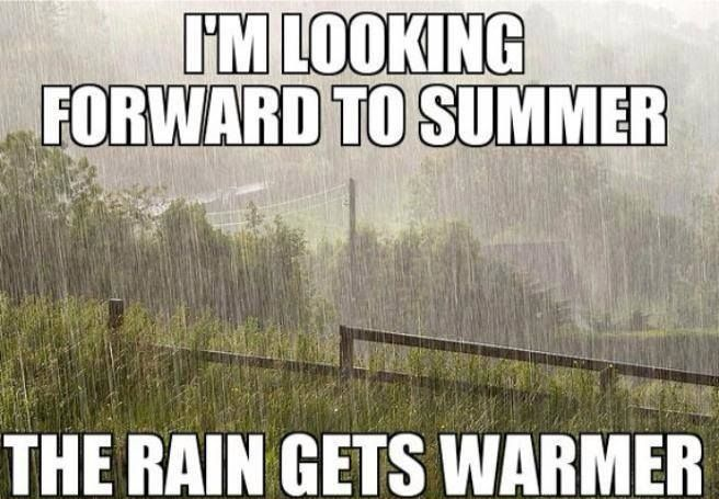 Irish Summertime Sadness Funny Summer Memes Summer Memes Weather Memes
