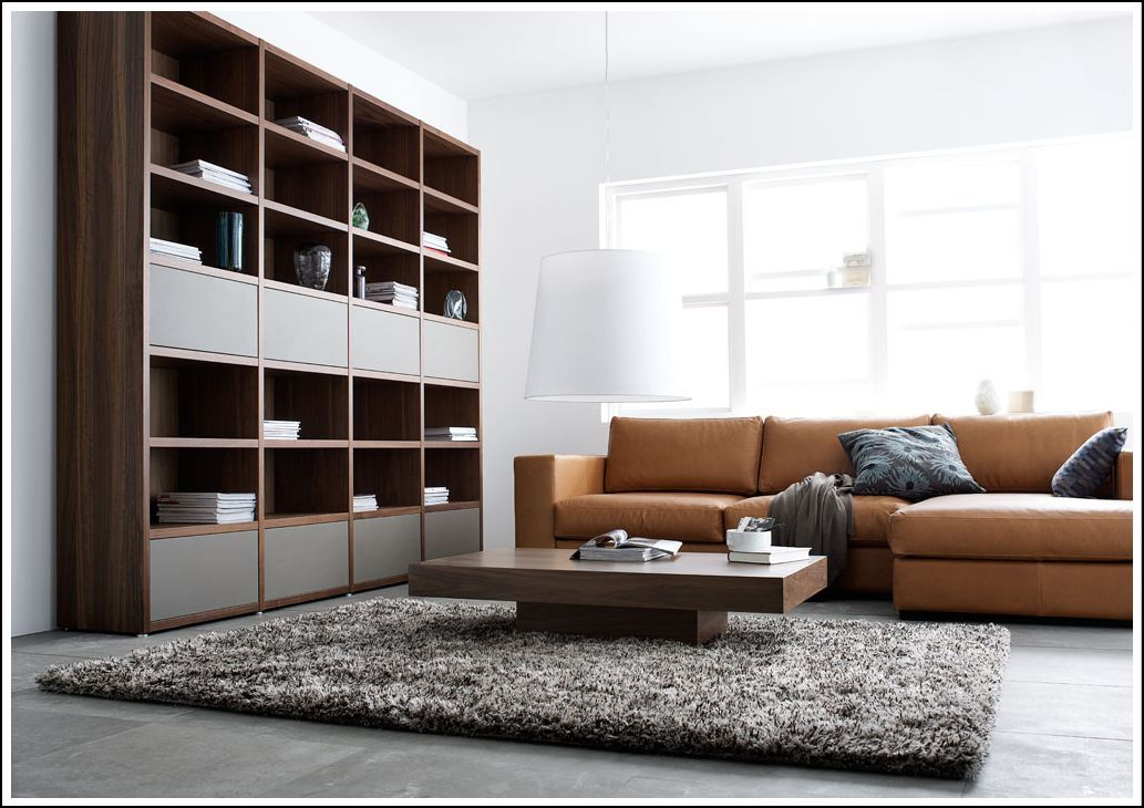 boconcept mezzo sofa and lecco shelving system. Black Bedroom Furniture Sets. Home Design Ideas