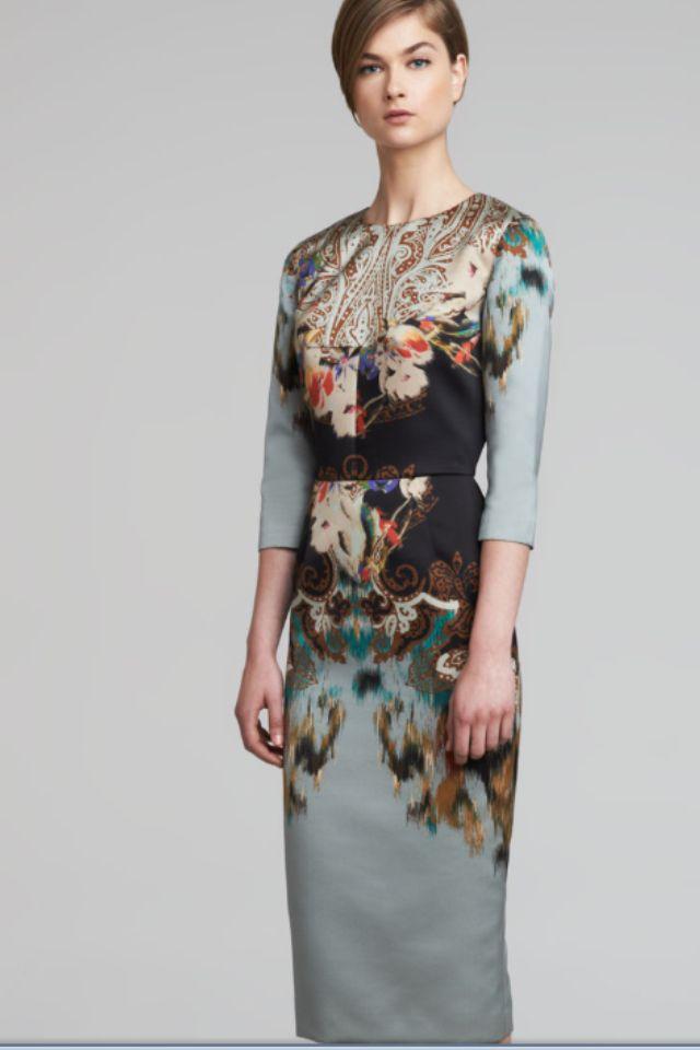 Etro Dress Fall 2013 - Need this!