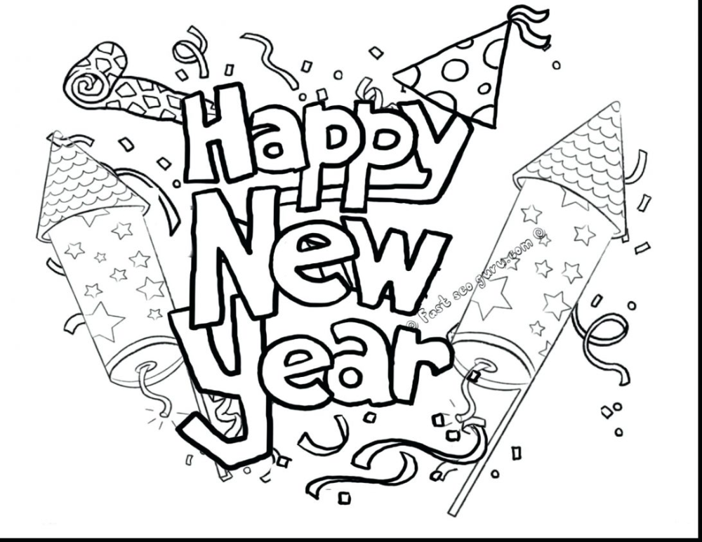 Color Pages Coloring New Years Eve Chinese Year January Calendar Mayhemcolor Co Amazing New Year Coloring Pages Flag Coloring Pages Happy New Year Fireworks