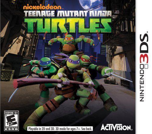 Teenage Mutant Ninja Turtles Nintendo 3ds By Activision Inc Teenage Mutant Ninja Turtles Fict Teenage Mutant Ninja Turtles Ninja Turtles Teenage Mutant