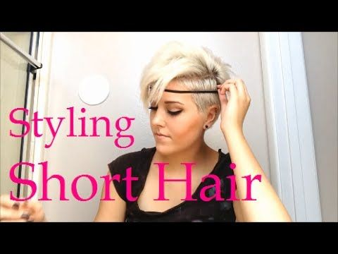 How To Style Really Short Hair Really Short Hair Short Hair Styles Hair Styles