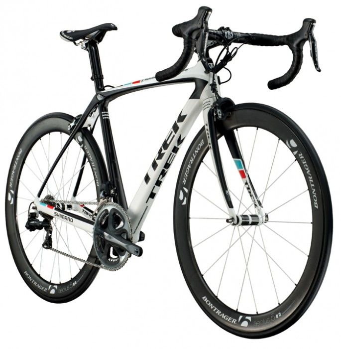 "New Trek race bike, with endurance geometry. The name ""Domane"" brings to mind ... the Wheel of Time, actually."
