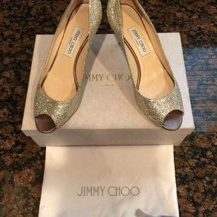 9fbc84c353e Jimmy Choo Champagne Isabel Formal Shoes Size EU 39.5 (Approx. US 9.5)  Regular (M