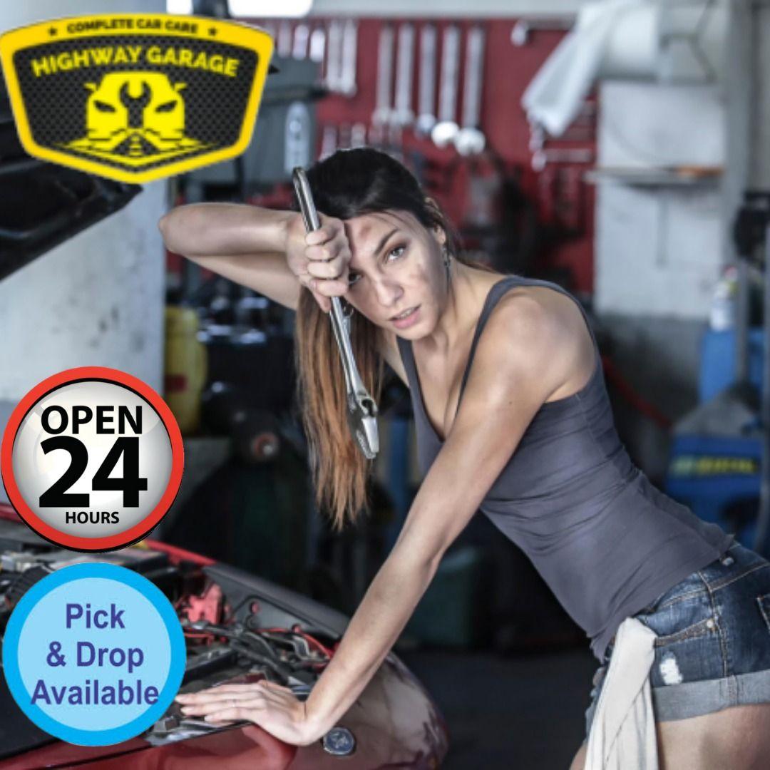 Highway garage Car Free Pickup & Drop. 24/7