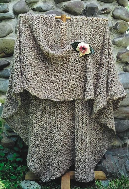 Find the Coziest Crochet Ruana Pattern on Craftsy | Ponchos ...