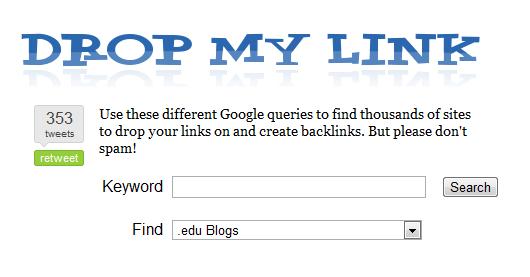 drop my links seo tool | Seo Tools | Seo tools, Seo, Tools