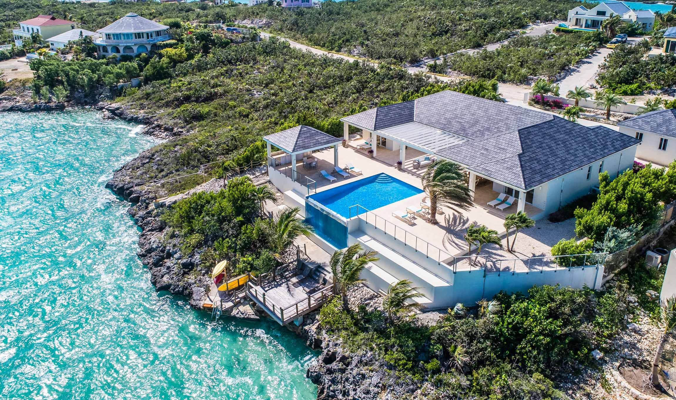 Villa Capri Chalk Sound Luxury Retreats Diseños de