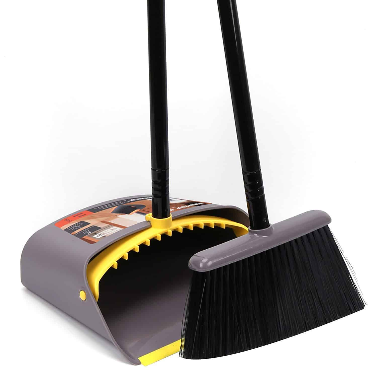 Long Handle Standing Upright Dustpan And Broom Set By Like Broom And Dustpan Best Broom Broom Dust pan and broom sets
