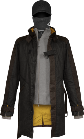 Aiden Pearce Set Outfit From Watch Dogs Game Inspired Clothing