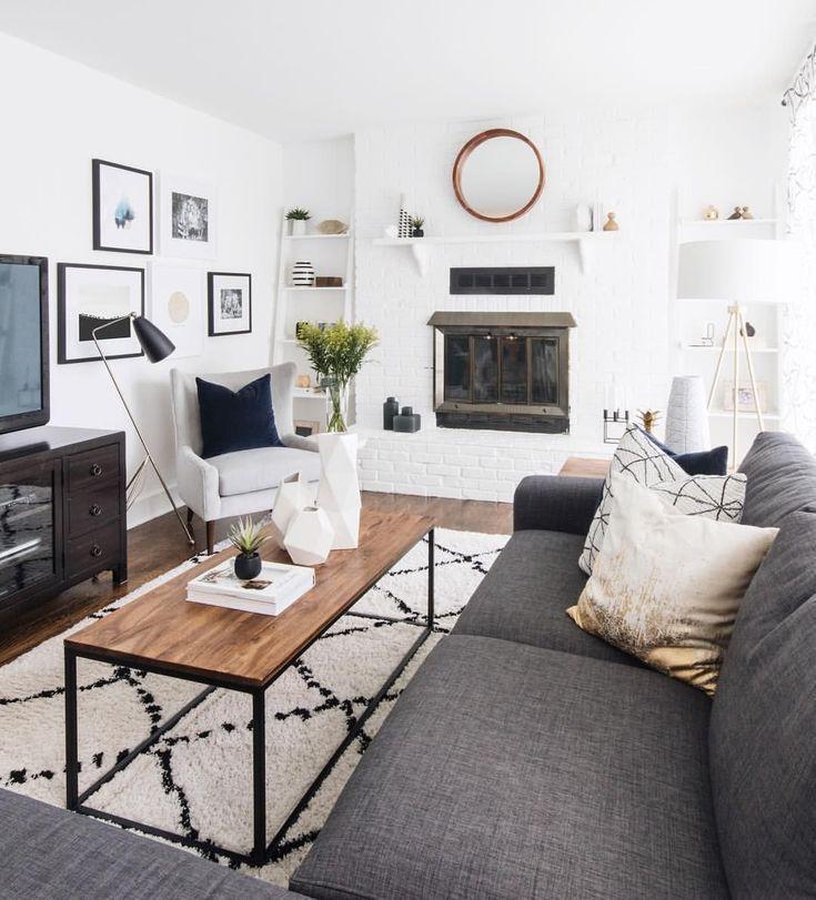 Amazing farmhouse living room design ideas home also best modern apartment for  minimalist rh pinterest
