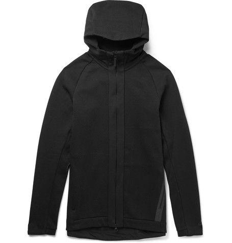 3865e65a8985 NIKE Sportswear Cotton-Blend Tech Fleece Zip-Up Hoodie.  nike  cloth  sweats