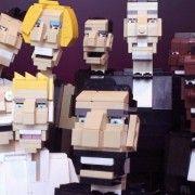 Ochre Jell - Celebrity in Lego