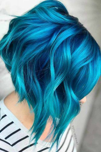 Photo of 24 Fairy Blue Ombre Hair for Beautiful Girls