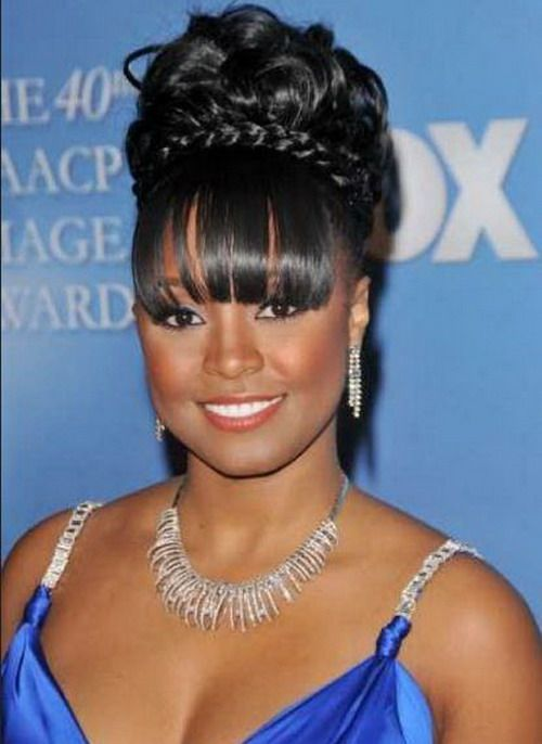 Astounding 1000 Images About Cruise Hair Styles On Pinterest Bangs Nia Short Hairstyles For Black Women Fulllsitofus