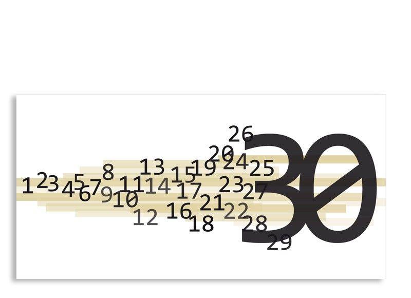 30 Geburtstag Einladungskarten #19: Einladung Technik 30. Geburtstag (Postkarte, Ohne Foto)
