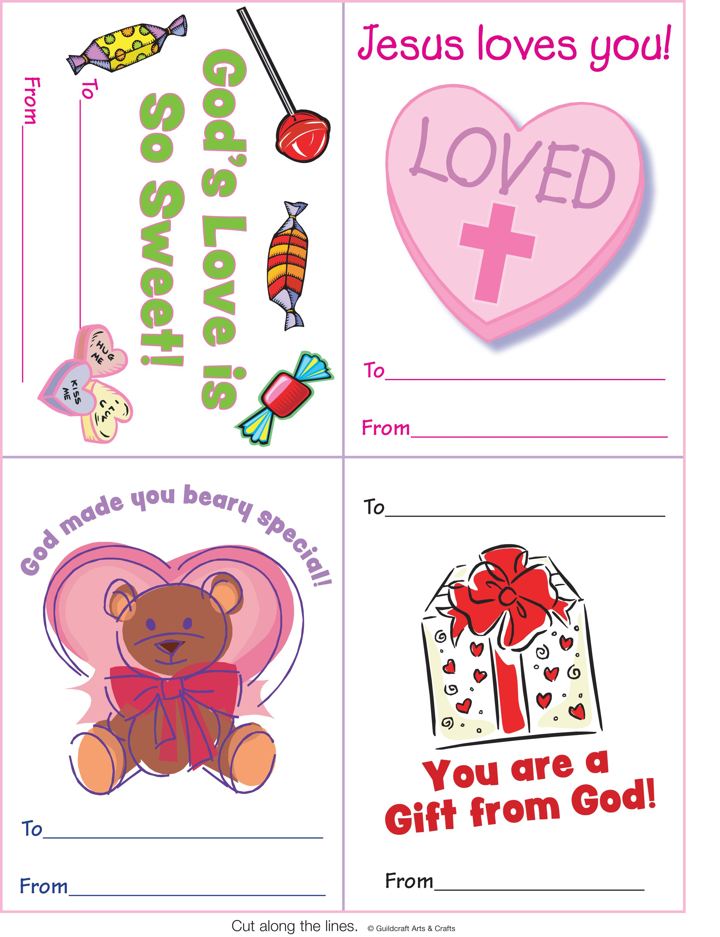 Printable Valentine S Day Cards Printables