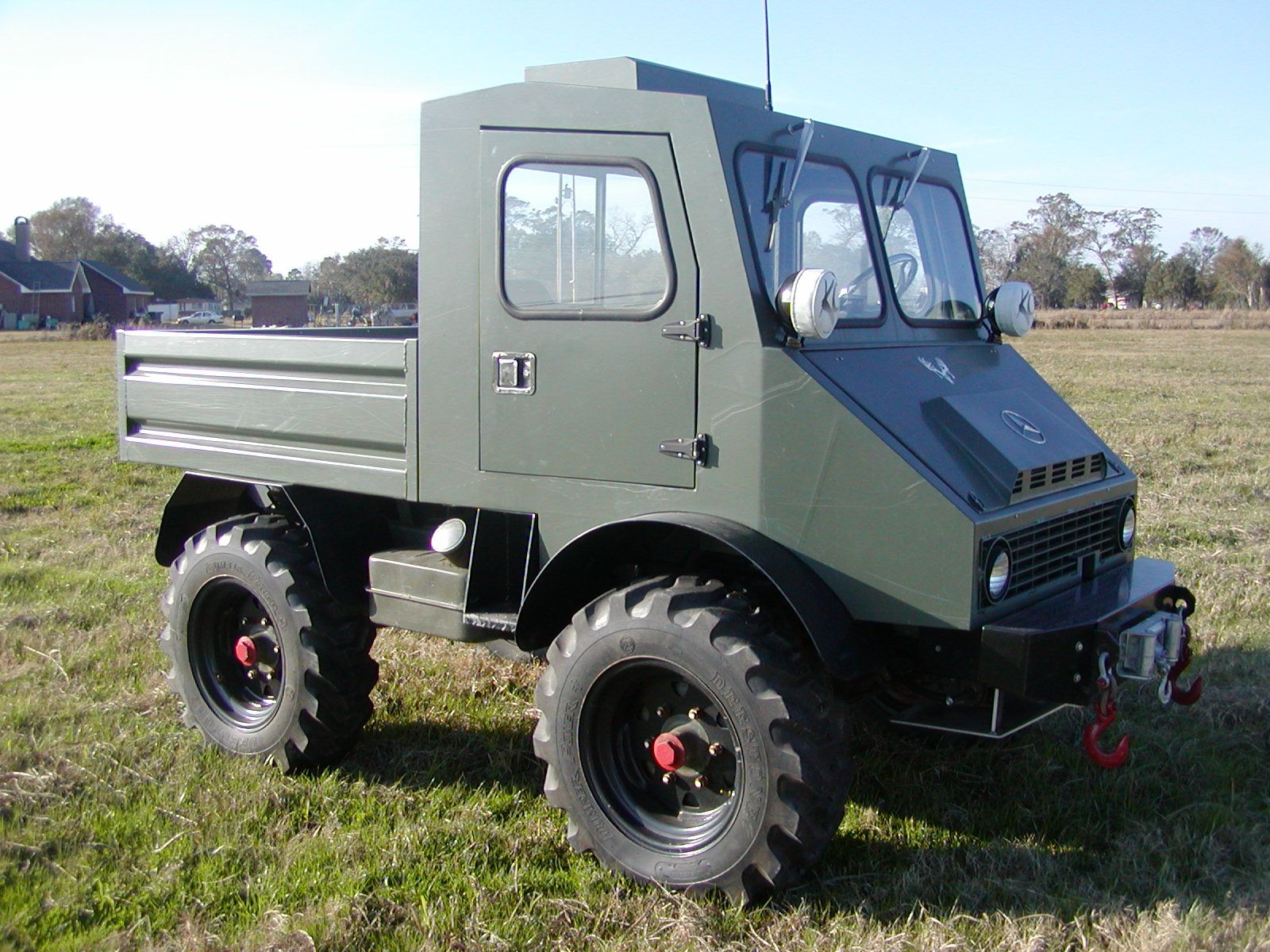 Texoma all wheel drive unimog dealer for texas and for Mercedes benz dealership midland tx