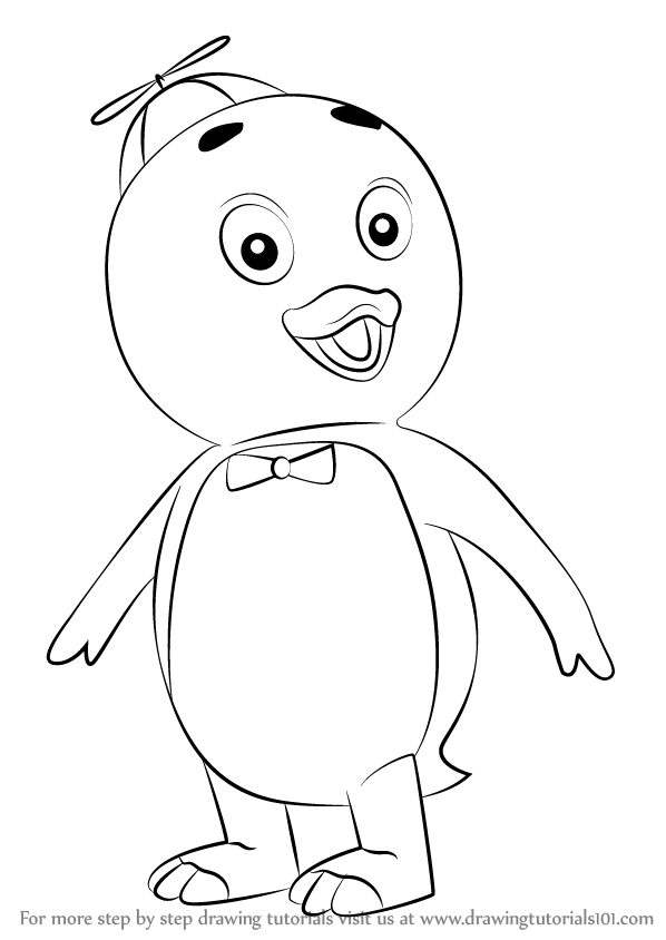 Learn How to Draw Pablo from The Backyardigans (The Backyardigans ...