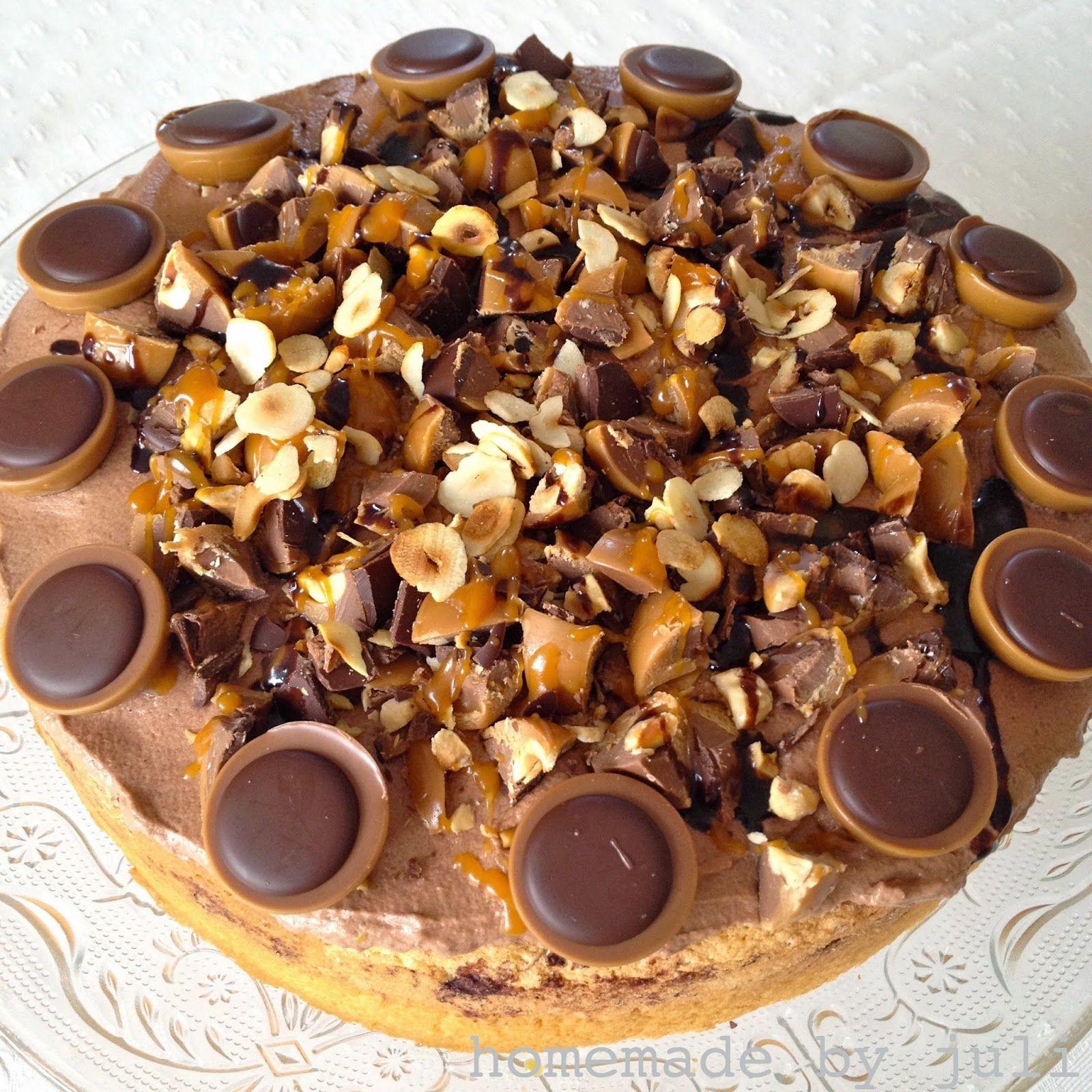 Homemade By Juli Toffifee Torte Toffifee Kuchen Kuchen Kuchen Und Torten