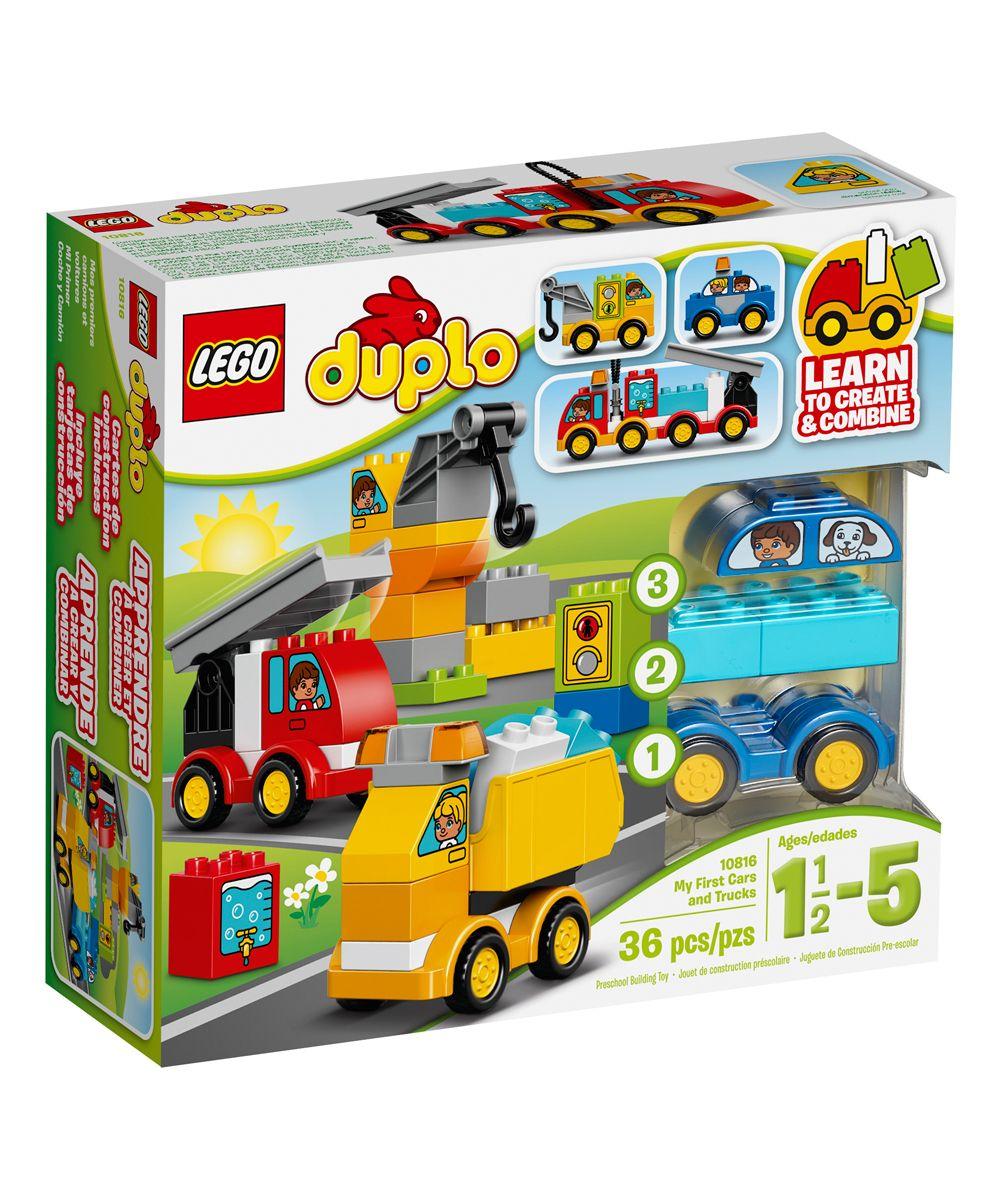 DUPLO® My First Cars & Trucks Building Set Lego duplo