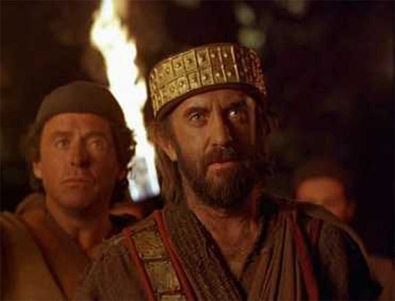 Saul and his servant meeting Samuel for the first time: ( 1 Samuel 9:6-27) | King david, Song of solomon, Festival captain hat